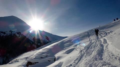 Berge, Schnee und Sonne ganz im Norden Italiens: So sieht für viele der perfekte Skitrip aus. Weilburger Schüler, die vom Skifahren in Südtirol zurückkommen, sollen nun freiwillig zu Hause bleiben. Foto: flyupmike/Pixabay